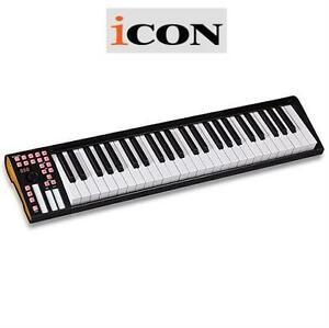 NEW ICON MIDI iKEYBOARD 49 KEYS KEYBOARD - MUSICAL INSTURMENTS ELECTRONIC PIANO 79759132