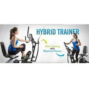 NEW PROFORM HYBRID TRAINER 2 IN 1 - RECUMBENT BIKE ELLIPTICAL EXERCISE FITNESS EQUIPMENT MACHINE WORKOUT 79658191