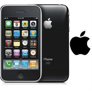 NEW APPLE IPHONE 3GS 8GB LOCKED BLACK - 8GB - SMART PHONE CELL PHONE SMARTPHONE   75417264