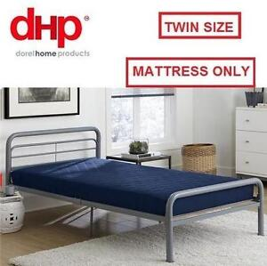 """NEW DHP QUILTED 6"""" MATTRESS TWIN NAVY BLUE TWIN QUILTED BUNK BED MATTRESS 107463052"""
