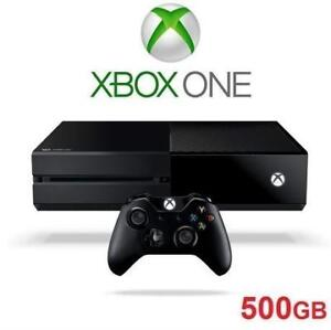 RFB XBOX ONE 500GB GAME CONSOLE 5C5-00057 131798574 MICROSOFT VIDEO GAMES SYSTEMS REFURBISHED