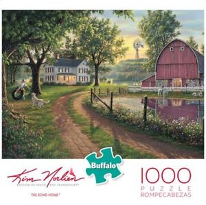 Buffalo Games K. Norlien The Road Home 1000 Piece Jigsaw Puzzle