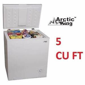 USED ARCTIC KING CHEST FREEZER   5 CU. FT. - WHITE - HOME KITCHEN REFRIGERATOR FREEZER APPLIANCE  87927098