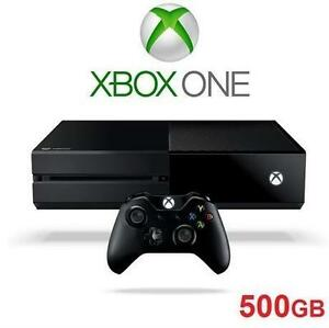 NEW XBOX ONE 500GB GAME CONSOLE - 115472709 - MICROSOFT VIDEO GAMES SYSTEMS