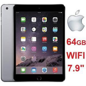 """NEW APPLE IPAD MINI 3 64GB TABLET - 111250046 - SPACE GRAY - 7.9"""" - WI-FI"""