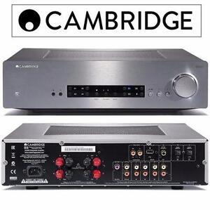 NEW CAMBRIDGE INTEGRATED AMPLIFIER   CXA60 SILVER - HOME AUDIO STEREO RECEIVER  84221222