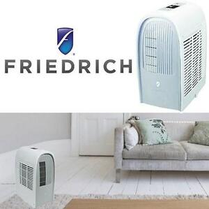 NEW FR 8000BTU 3IN1 AIR CONDITIONER - 118693695 - FRIEDRICH 115V COMPACT PORTABLE ROOM WITH HEAT AND DEHUMIDIFIER