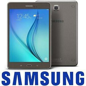 "REFURB SAMSUNG GALAXY TAB A 16GB 8"" 8"" WI-FI SMOKY TITANIUM TABLET - ELECTRONICS   79227165"