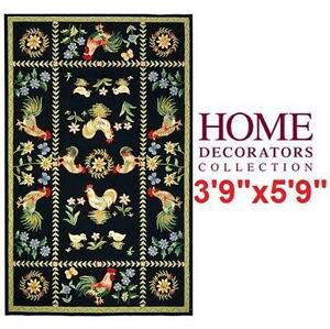 """NEW HDC SPRING ON FARM AREA RUG 3'9""""x5'9"""" - HOME DECORATORS COLLECTION - HOME FURNITURE DECOR 77928860"""