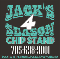 Jack's 4 Season Chipstand hiring full time/part-time staff
