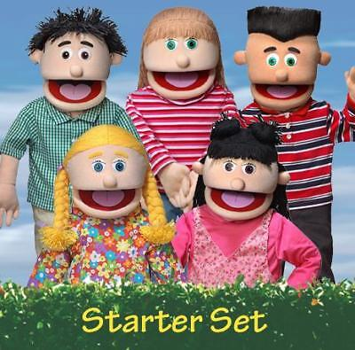 (KIDS STAGE PUPPET PACKAGE OF 5, 25