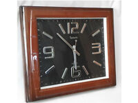large square wall clock 40x 50cm ,Office hallway, community center