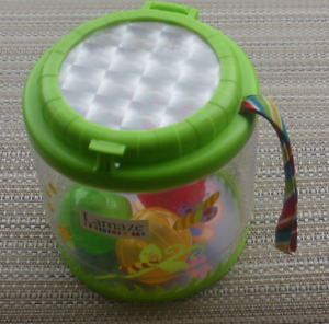 Lamaze Container with 3 Plastic Light up Balls