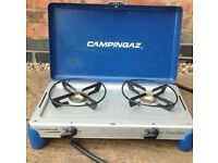 Campinggaz dual burner stove like the one shown