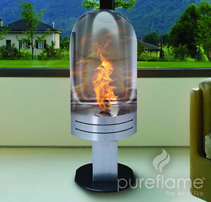 NEW ETHANOL BIOFUEL FIREPLACE-NO VENT NEEDED-FREE DELIVERY