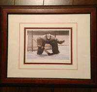 Framed Goalie Print