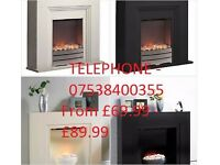 New - Electric fires with surround- £69.99 to £89.99 -ROCHDALE