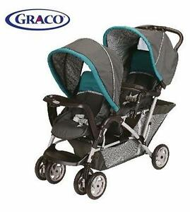 USED* GRACO DUO GLIDER STROLLER   DUO GLIDER CLASSIC CONNECT STROLLER, DRAGONFLY BABY INFANT 92152433