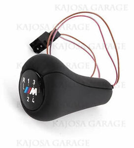 BMW 5 Speed lighted illuminated shift knob E36 M3 Z3 MZ3 25112231550