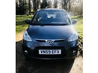 Hyundai i10 Comfort 1.3, 5 Doors, ONLY £31.50 Tax, New MOT -No Advisories, ONLY 45K Mileage
