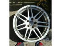 Genuine audi a4 rs4 18 inch alloys wheels vw mk5/6/7