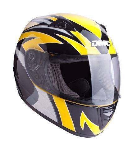 motorradhelm schwarz gelb helme ebay. Black Bedroom Furniture Sets. Home Design Ideas