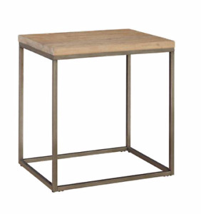 End Table - Palliser Julien Acacia wood top