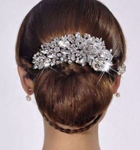 brand new Bridal Bridesmaid Austrian Crystal Hair Comb