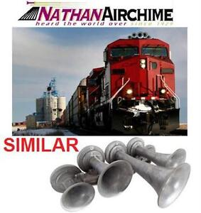 NEW NATHAN AIRCHIME K5 TRAIN HORN Genuine Railway Locomotive Tune Horn AUTO CAR TRUCK VEHICLE BOAT COLLECTOR 83943124