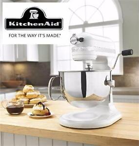 USED KITCHENAID STAND MIXER 6QT Pearl Metallic Professional 600 Series 6-Quart Bowl-Lift  Kitchen Appliance 98698845