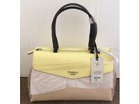 BNWT Fiorelli Designer Lemon Mix Tote Bag