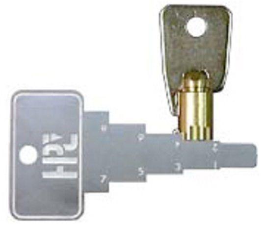 TUBULAR KEY DECODER for ACE Lock type Barrel Keys. Locksmith Tools