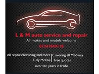 L&M auto service and repair Low overheads driving your cost down