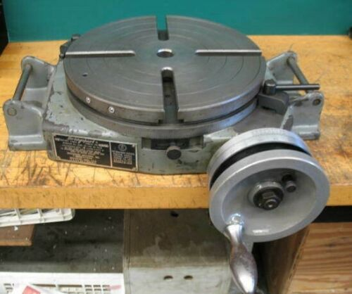 "12"" BRIDGEPORT MILLING MACHINE ROTARY TABLE ***U.S.A.**** VGC***"