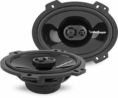 "Rockford Fosgate PUNCH P1683 6"" x 8"" 260W 3-way Coaxial Car Stereo Speakers"