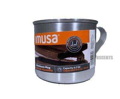 IMUSA Aluminum Mug Jarro De Aluminio Capacidad de 0.6 Lts  0.7 Quarters Silver