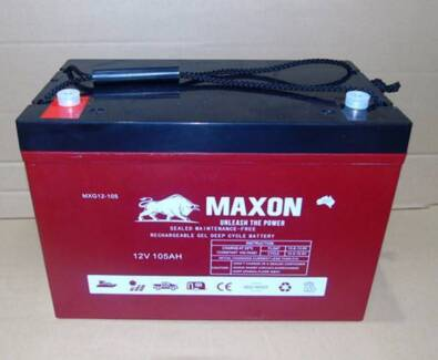 Camping 4WD Solar - GEL Battery 2YR Warranty - Reliable 105Ah