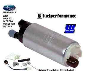 *Genuine* Walbro 255LPH Fuel Pump +Install Kit SUBARU IMPREZA LEGACY SVX GSS341