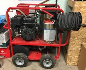 2014 Hotsy 1065SSE Pressure Washer with Steam Kit Installation