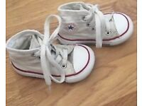 Converse all star high tops infants size 4