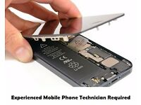 Experienced Technician required. Mobile Phone, tablet and laptop engineer required
