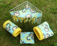 Homemade fleece products for Guinea pigs/rabbits/rat etc.