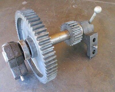 Atlas Craftsman 10-12 Lathe Back Gear Assembly In Great Shape