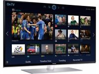 Samsung 48-inch Smart 3D ULTRA SLIM TV,built in Wifi,Freeview HD with 2 x remote,IN Great condition