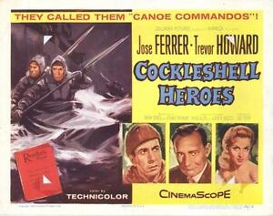 """WANTED: Widescreen version of """"tHE Cockleshell Heroes"""""""