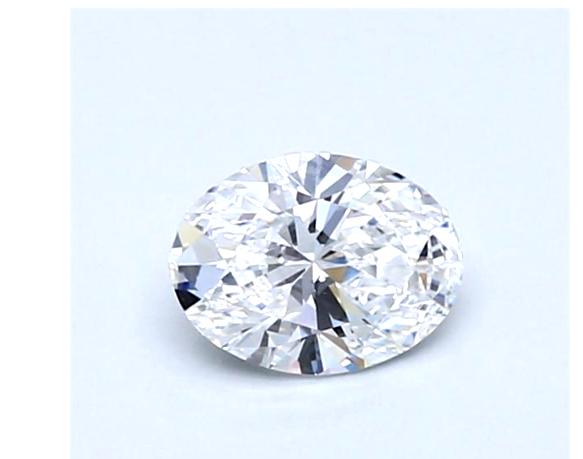 Diamond 0.51CT Natural Loose Oval Cut Brilliant E VS2 Clarity GIA Certified