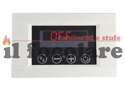 Usato, Centralina di controllo MICRONOVA PJ014 inserti legna aria canalizzabili CLAM usato  Camino