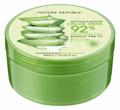 Nature Republic Soothing & Moisture Aloe Vera 92% Soothing Gel 300ml (US Seller)