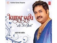 Kumar Sanu (at its best) Music cd - (exellent Condition)