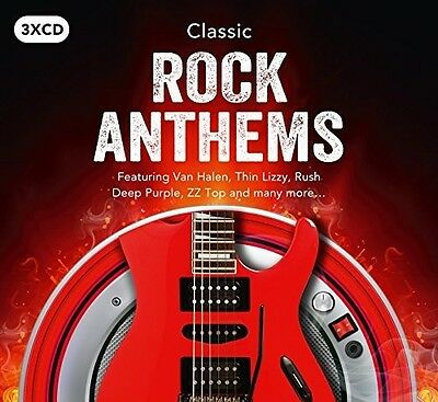 Various Artists   Classic Rock Anthems   Various  New Cd  Uk   Import